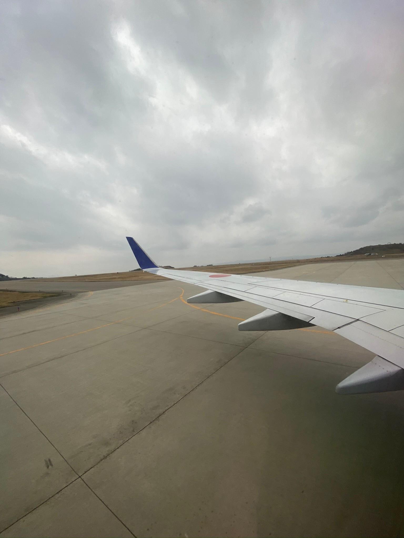 のと里山空港離陸