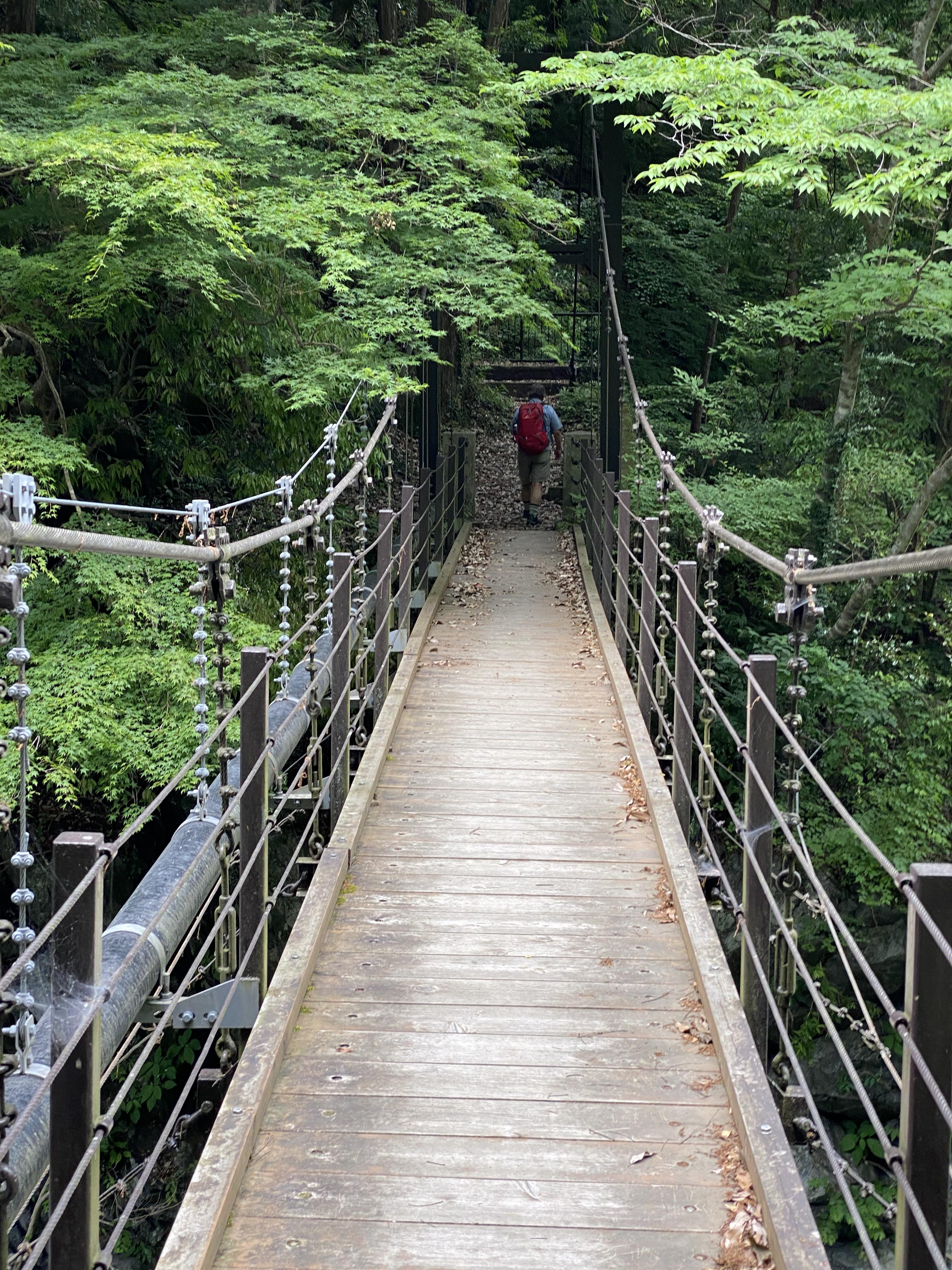 登計橋の吊り橋