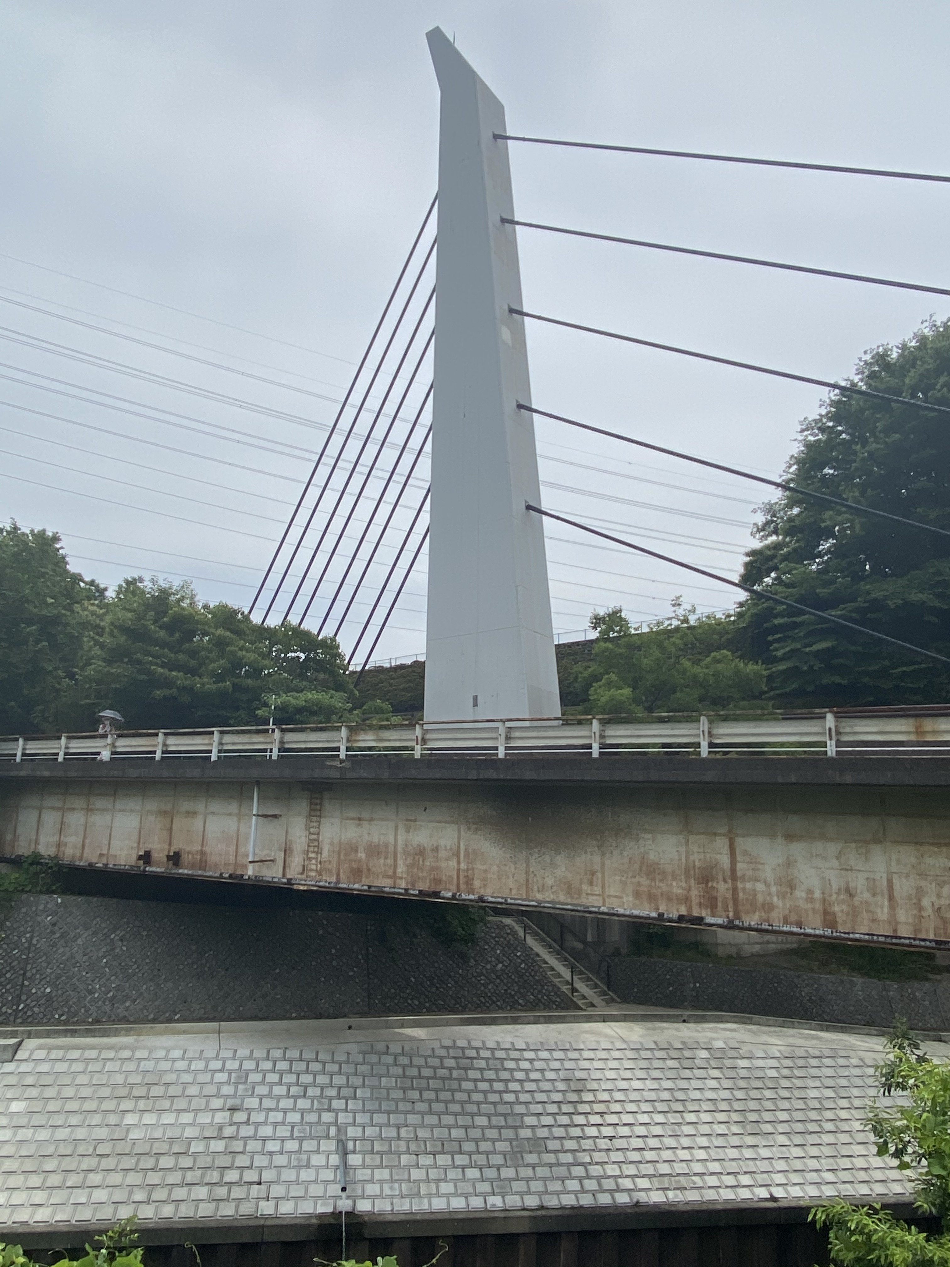 旧道市場坂橋から市場坂橋