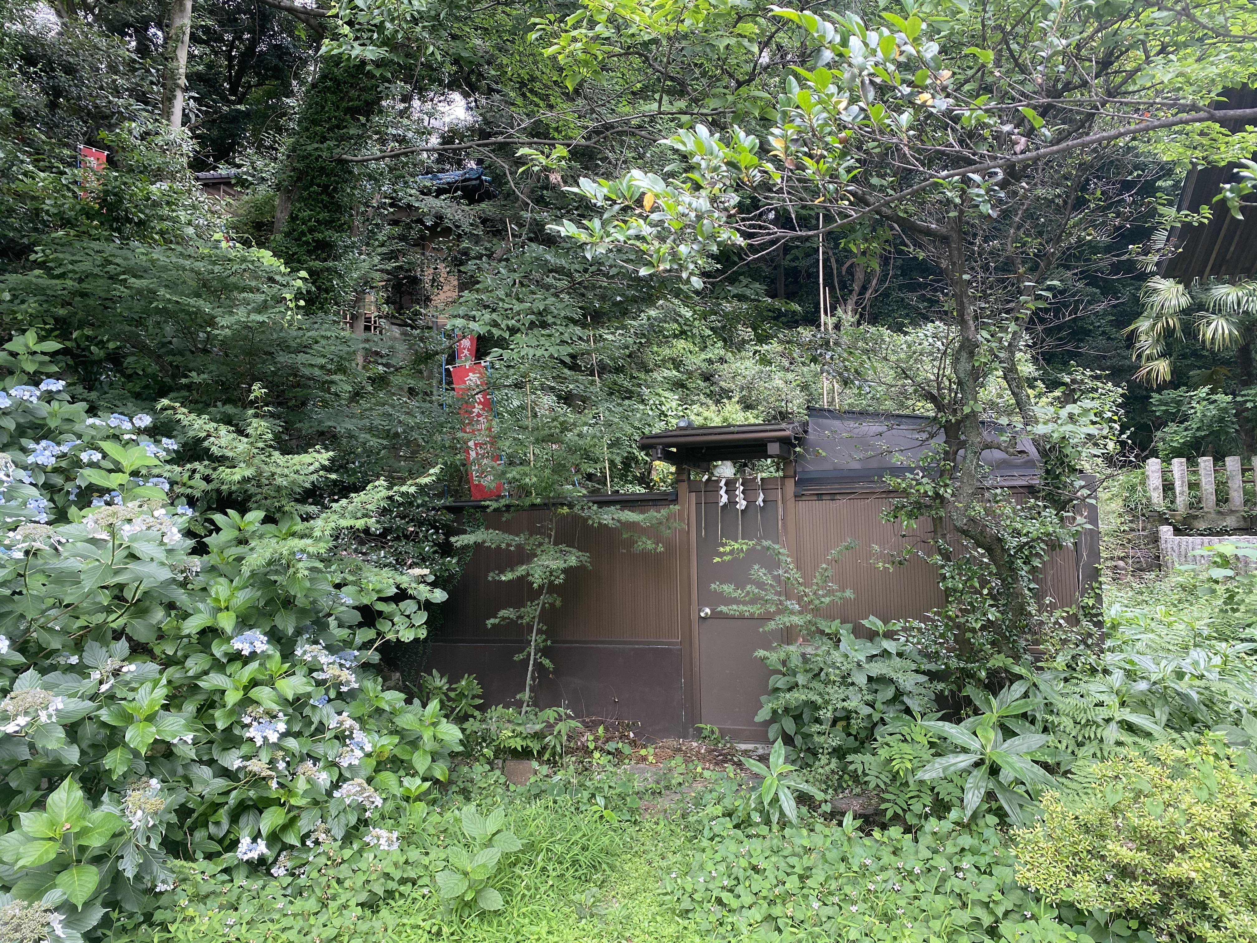 白子熊野神社の湧水