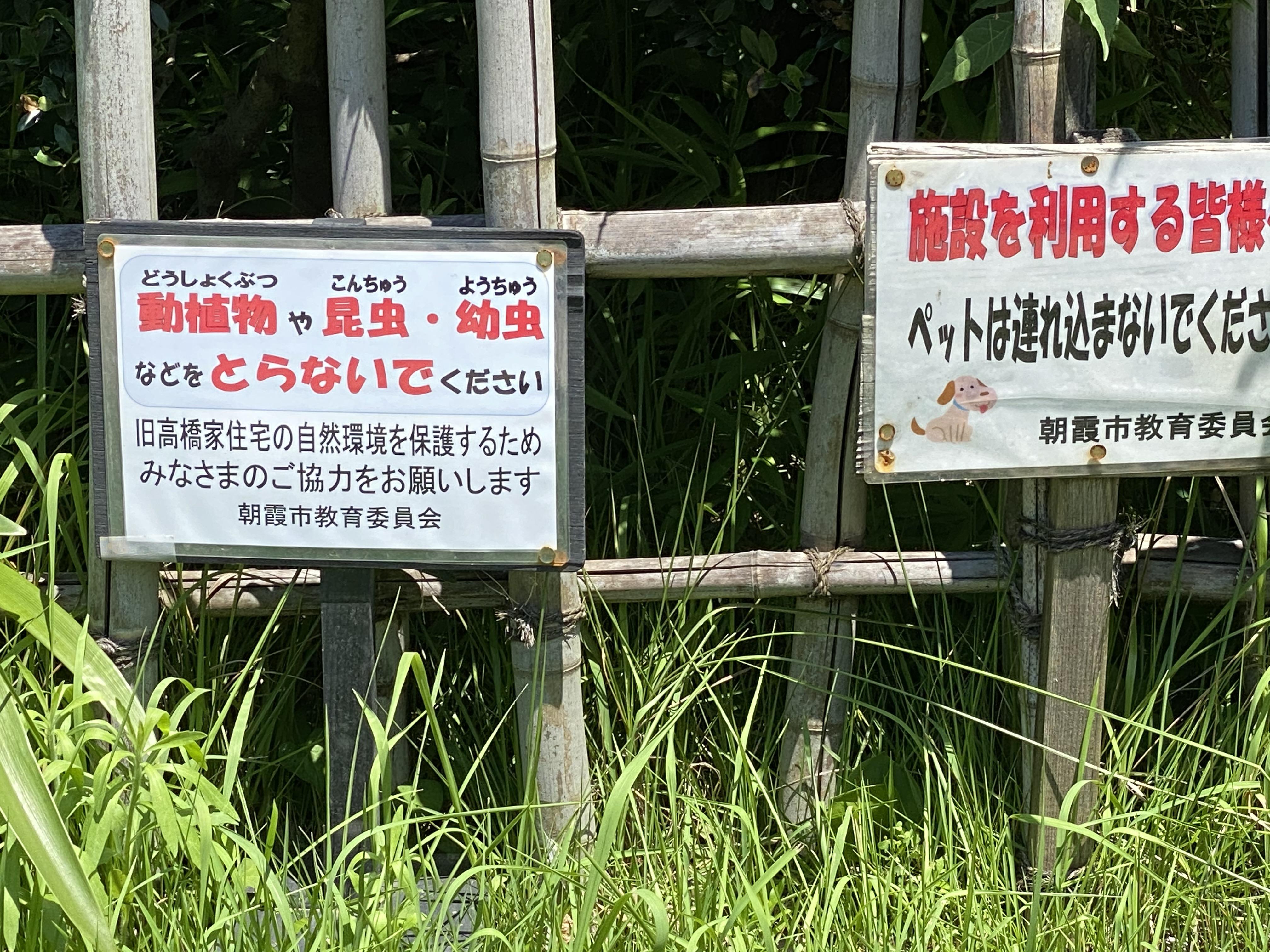 動植物や昆虫・幼虫などをとらないでください