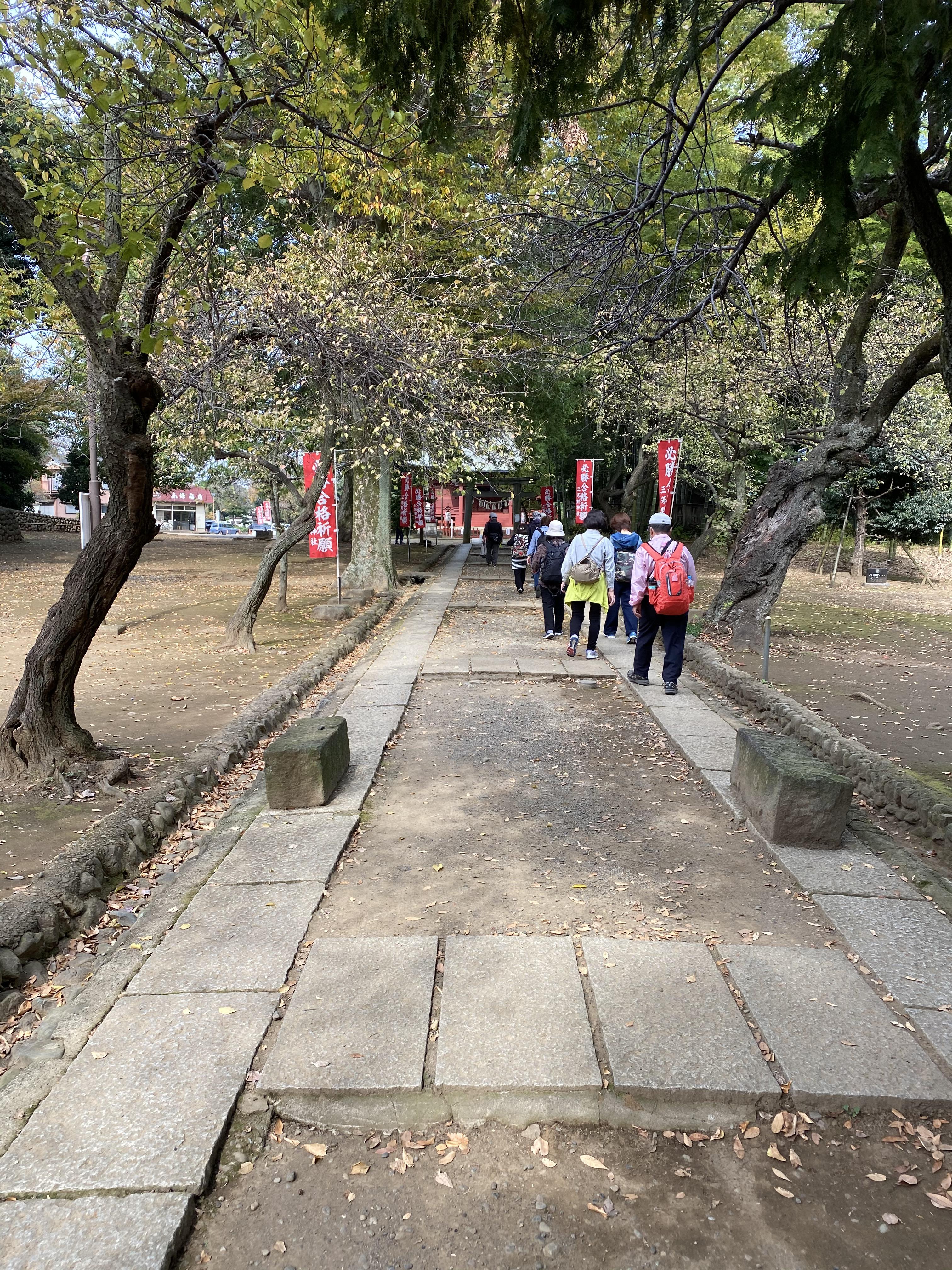 三芳野神社参道